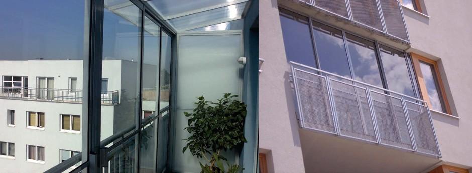Ryzí lodžie WINDOW SLIDE - posuvné rámové zasklení lodžie pro atypická řešení